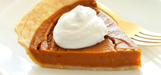 Vegan Gluten-Free Pumpkin Pie