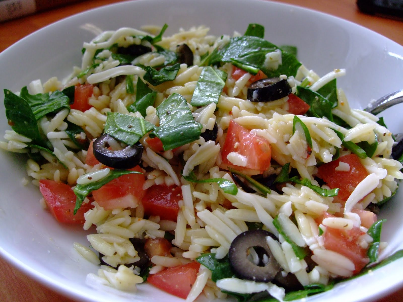 Orzo Salad with Heirloom Tomatoes and Herbs