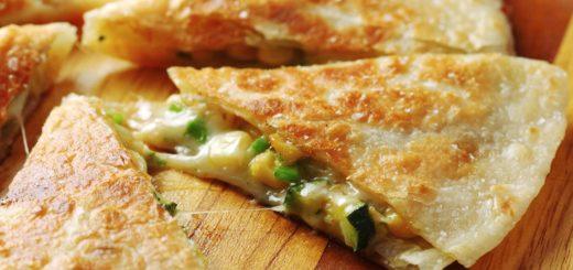 Zesty Zucchini Quesadillas