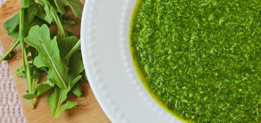Fresh Arugula Pesto