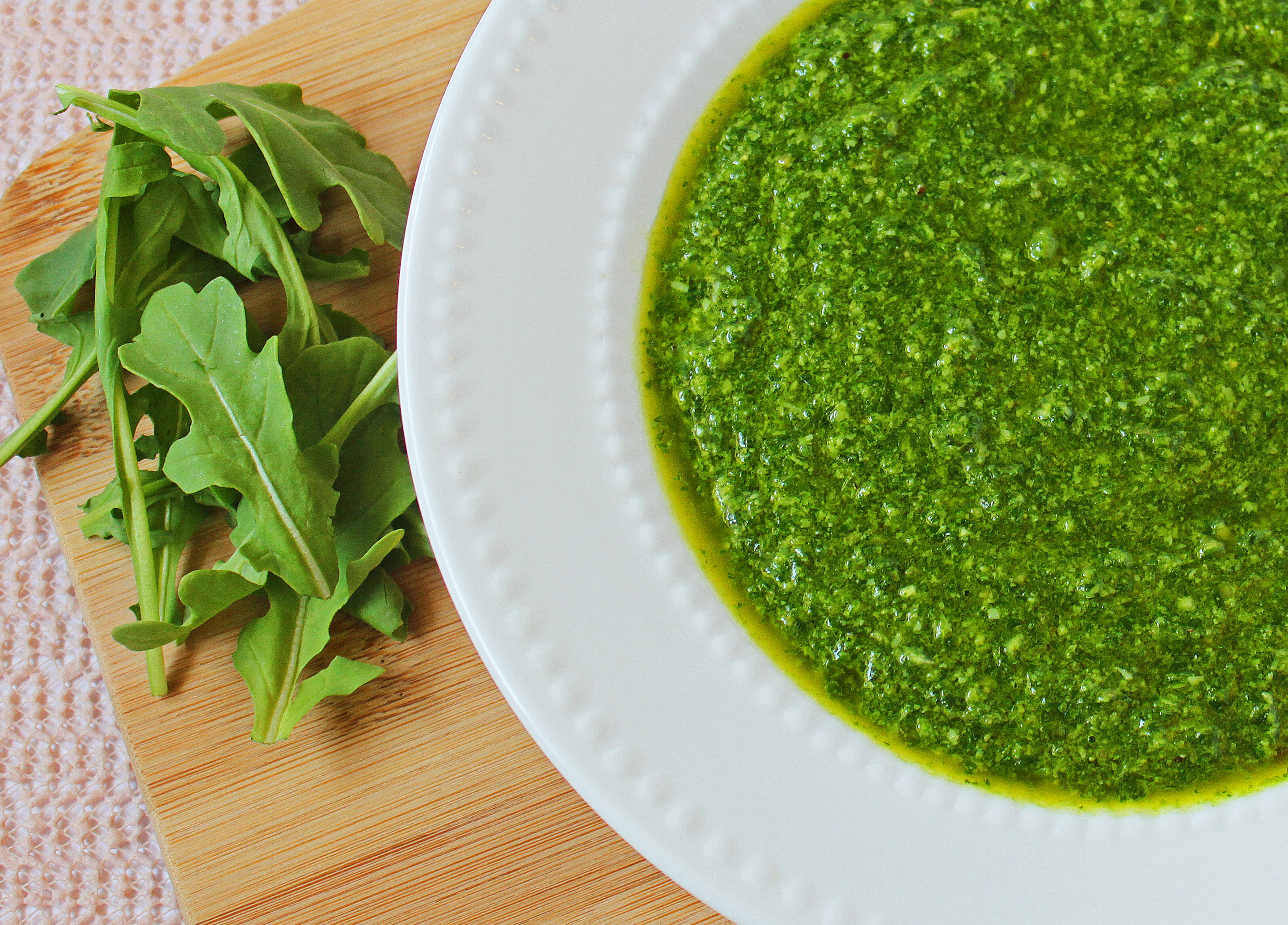 Fresh Arugula Pesto