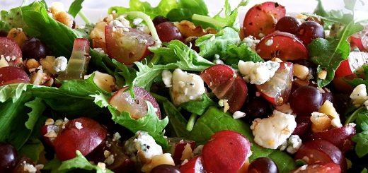 Fennel, Grape, and Gorgonzola Salad