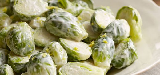 Brussels Sprouts with Buttermilk Dressing