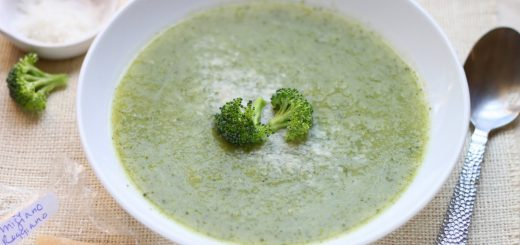 Broccoli Leaf Soup