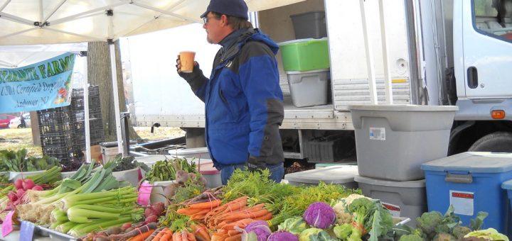 John Krueger, owner/operator of Starbrite Farm