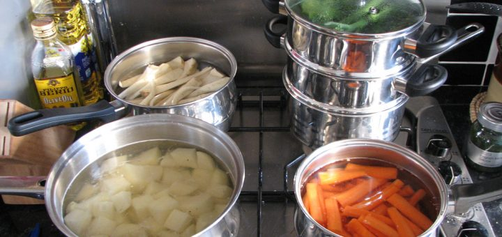 Blanching and Steaming