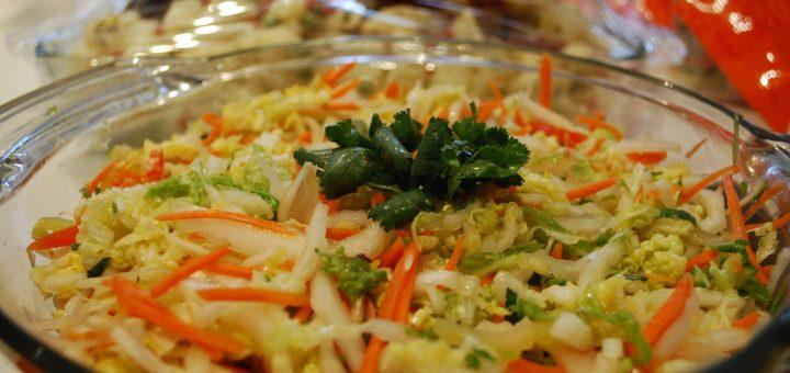 Crisp Tuna-Cabbage Salad Recipe — Dishmaps