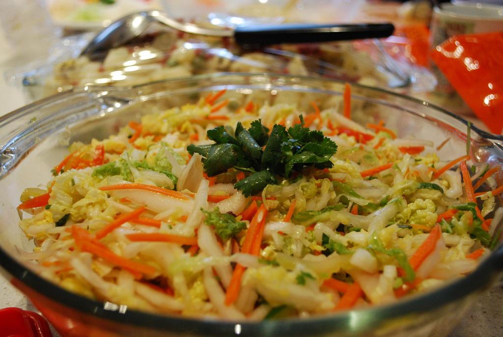 Tuna Cabbage Salad