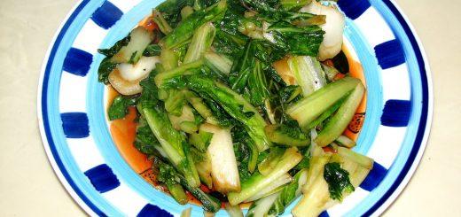 Stir Fry Bok Choy