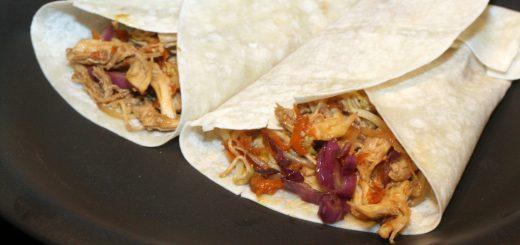 Moo Shu Turkey Wraps