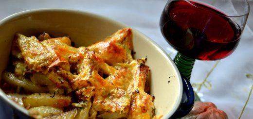 Kohlrabi with Cheese