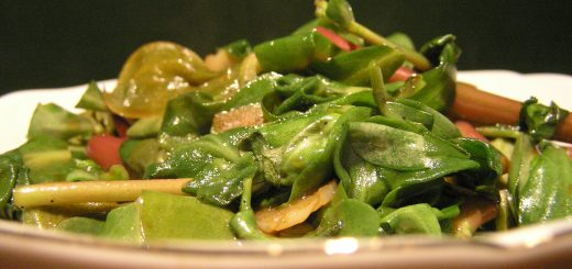 Purslane and Parsley Salad