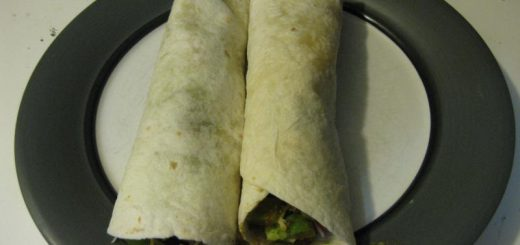 Steak and Veggie Wraps