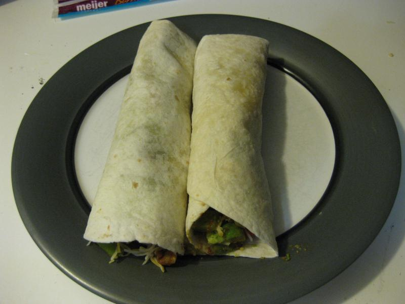 Steak and Veggie Wraps
