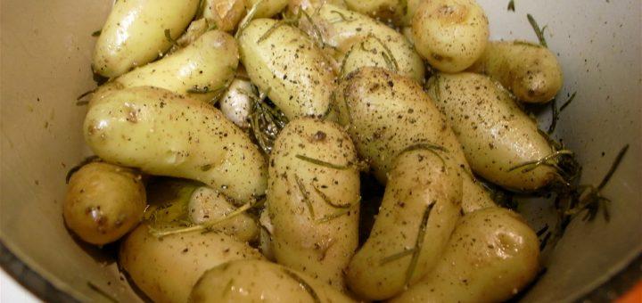Easy Fingerling Potatoes