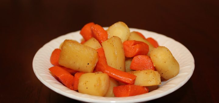 Parsnip and Carrot Dice
