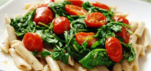 Arugula Tomato Pasta