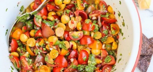 Cherry Tomato and Ground Cherry Salsa