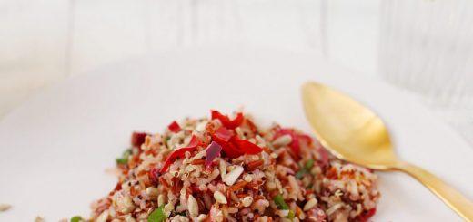 Baked Radish Quinoa Salad